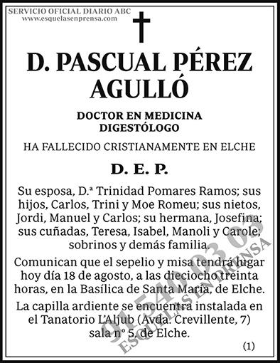 Pascual Pérez Agulló